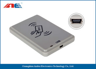 ISO14443A USB RFID Reader For Personal Identification DC 5V Power Supply